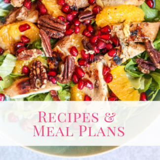 Recipes & Meal Plans